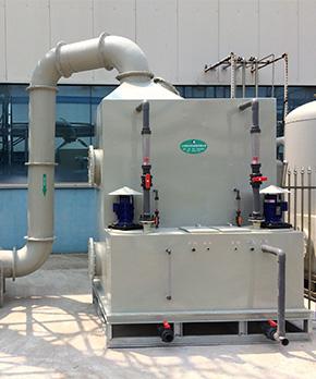 中节能太阳能科技——硅烷燃烧洗涤塔改造项目
