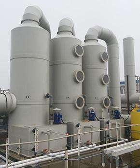 多氟多废气净化塔工程案例