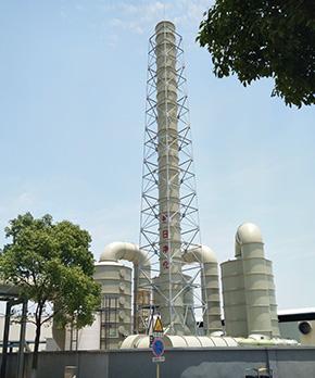 苏州阿特斯氮氧化物净化塔工程案例