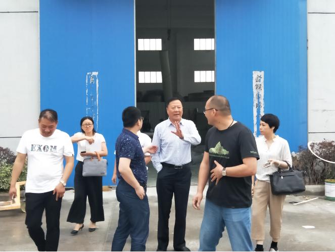 天津金茂集团领导莅临江苏超日净化
