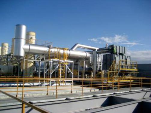 蓄热式焚烧炉RTO+余热回收系统
