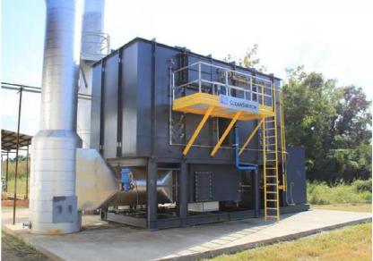 蓄热式催化燃烧装置RCO